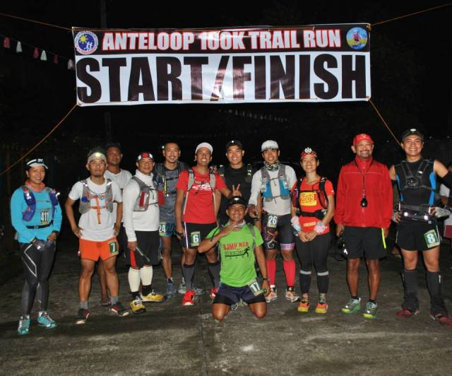 Ten (10) Runners At The Starting Line