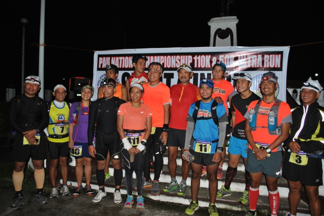 "Starters Of The 110K Race At The ""Smallest Plaza"" In Jordan, Guimaras"