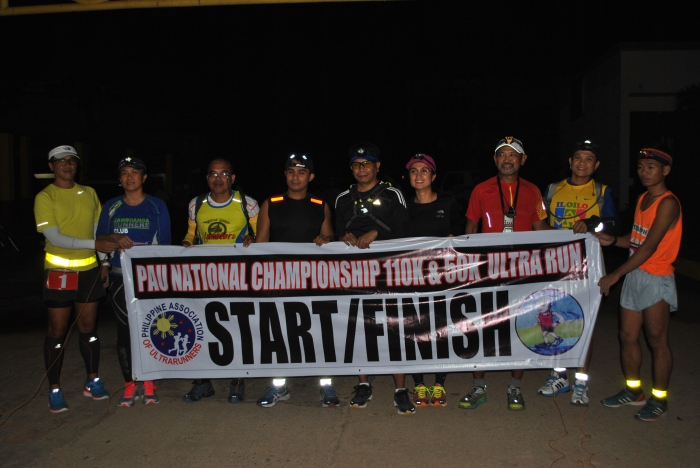 Starters Of The 50K Run (In Front Of The Provincial Capitol)