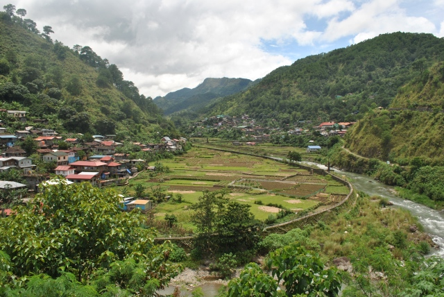 A Village Along The Route Before Sagada
