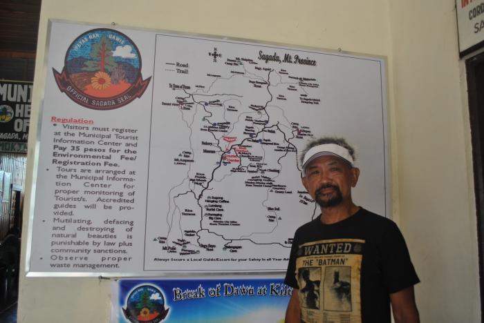 At Sagada Tourism Center