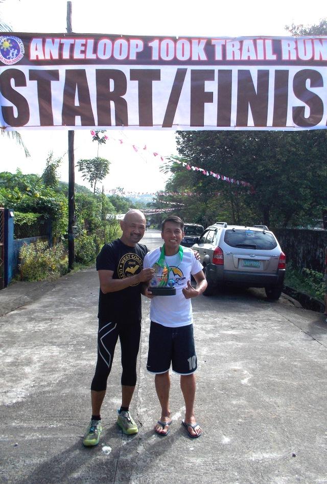 Raffy Gabotero, Champion & Course Record Holder