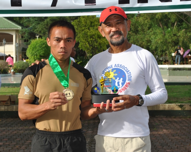 Champion & Course Record Holder Raul Ragaodao
