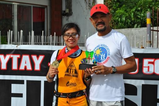 Female Champion & 4th Overall Rhina Vince Sison