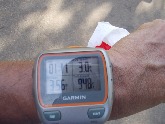 My Official Time For My First FKT/Hill Repeat