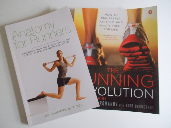 Books #1 & #2: The Anatomy For Runner & The Running Revolution
