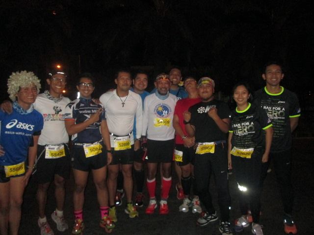 Very Rare Picture With Ultra Runners In A Marathon Race