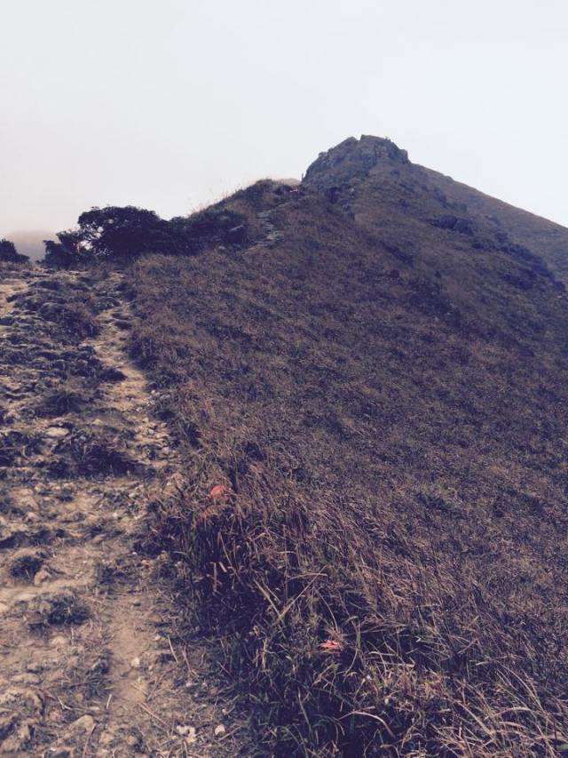 The Descending Trail From The Lantau Peak