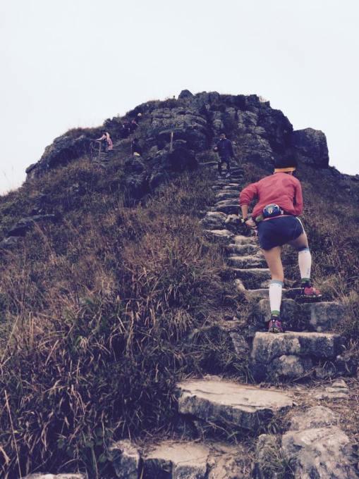 """""""Rock Stairs"""" To Lantau Peak"""