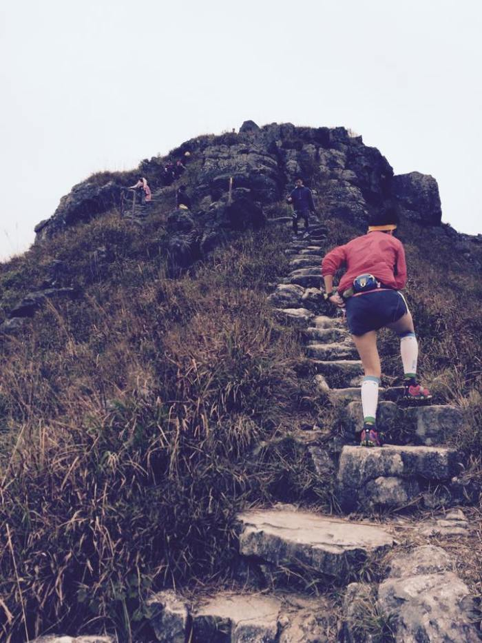 """Rock Stairs"" To Lantau Peak"
