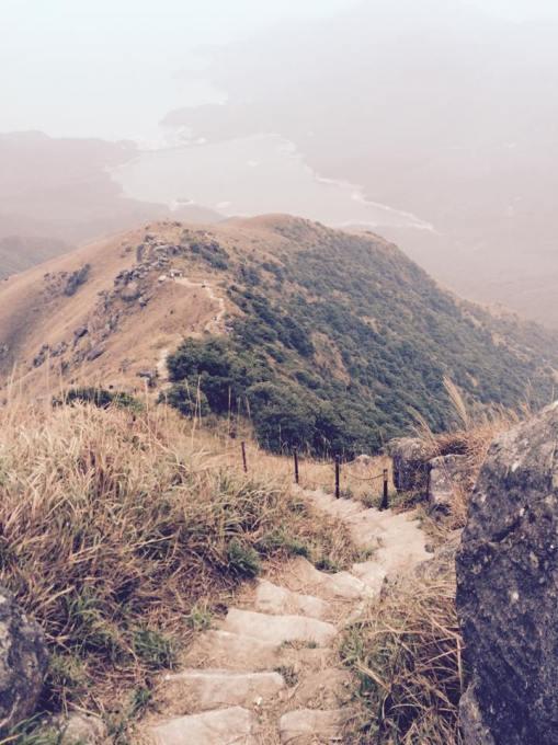 Steel Chains At The Assault To Lantau Peak