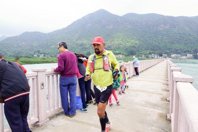 Pedestrian Bridge Approaching Tai O Village