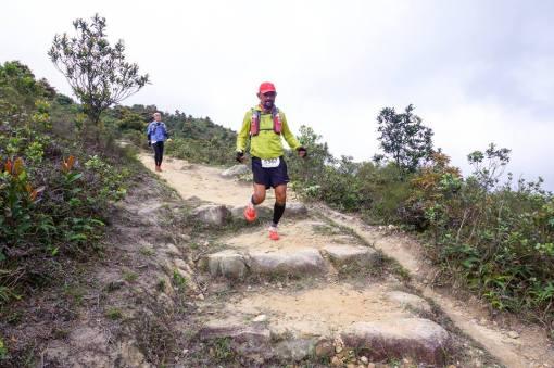 Approaching Ngo Ping Towards Lantau Peak