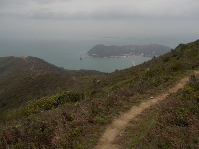 The Descending Trail To Tai O Village