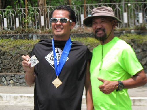 9th & Last Runner Mark Anthony Rodica