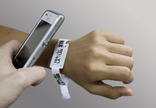 Timing Wrist Band & Electronic Gadget/Reader