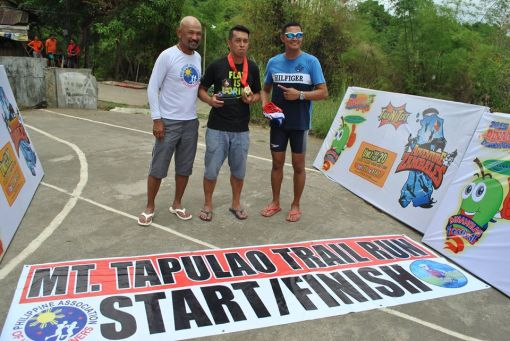 Overall Champion & Course Record Holder Raffy Gabotero