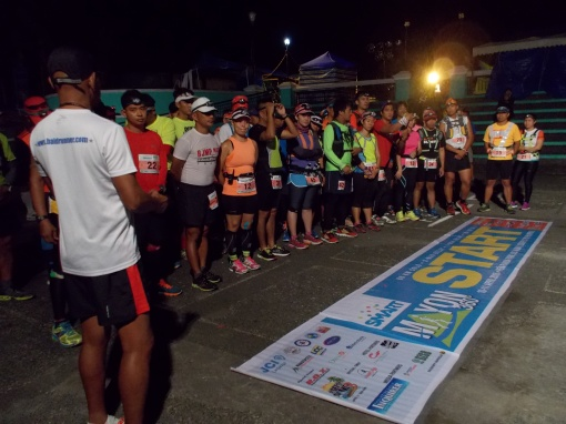 Brave Warriors Of The 1st MAYON 160K Ultra Marathon