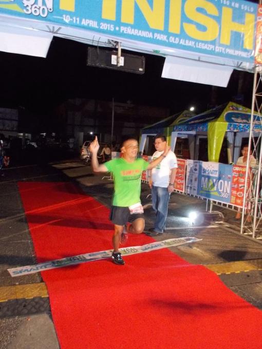 Overall Champion & Course Record Holder Lao Ogerio