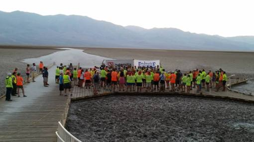 Starting Area: Badwater Basin @ Death Valley Park