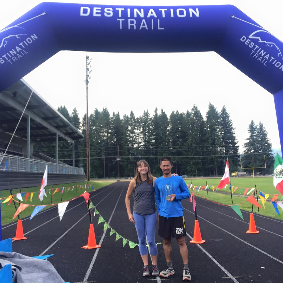 Finish Line Of The Bigfoot 200-Mile Race
