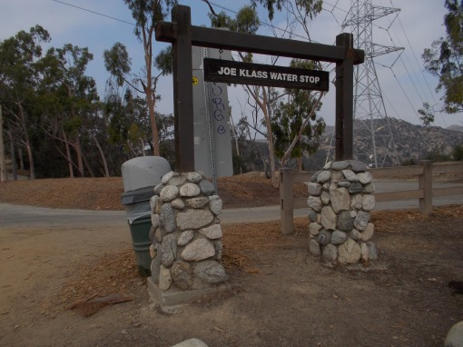 Signage Of The Joe Klass Water Source