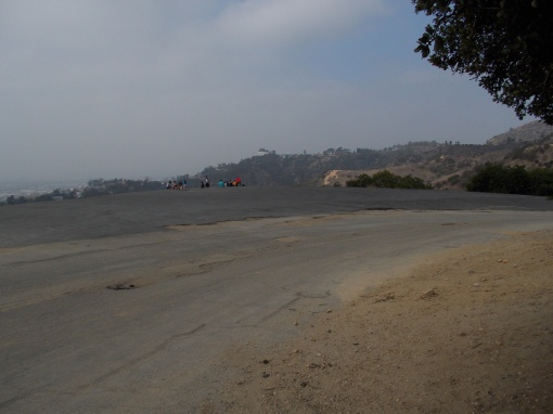Griffith Park Helipad Area