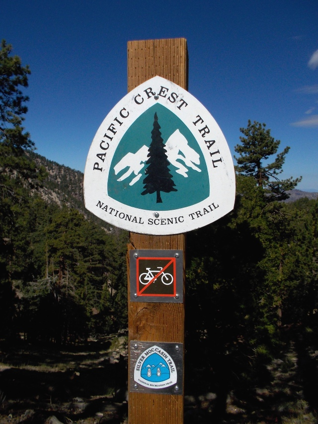 Pacific Crest Trail Marking