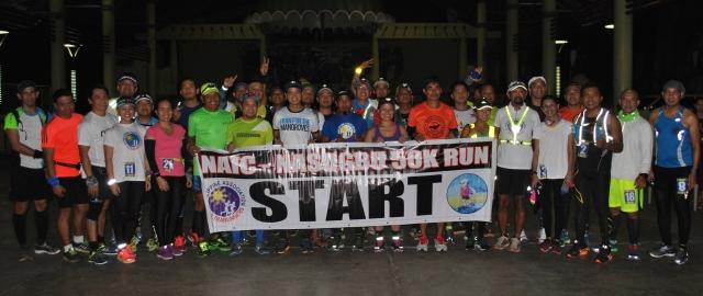 Thirty-Three Runners @ The Starting Line