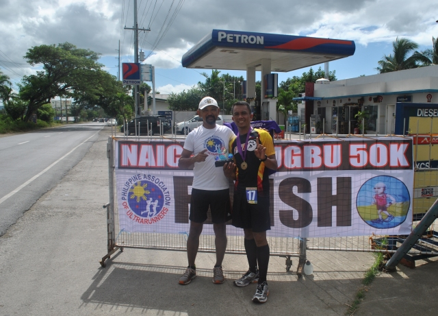 Overall Champion & New Course Record Holder Jijie Famador