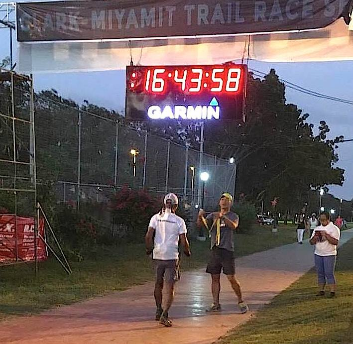 It's A Race When There Is A Clock @ The Finish Line (Photo By Dm Padilla)
