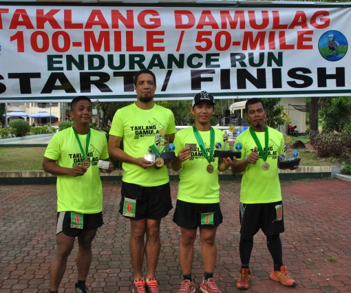Finishers Of The Taklang Damulag 100-Mile Endurance Run