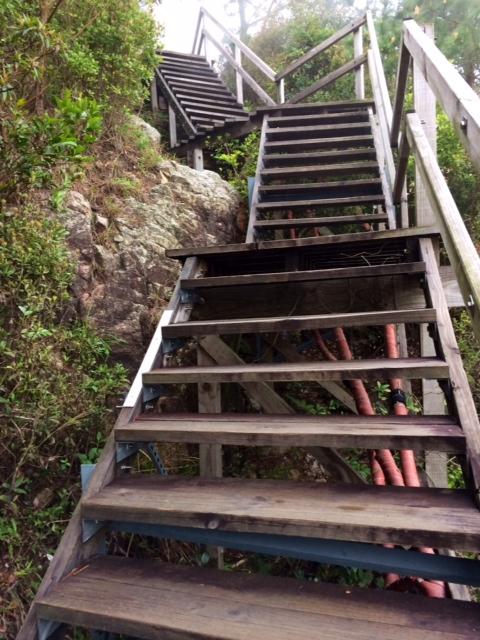 Ngong Ping Stairs
