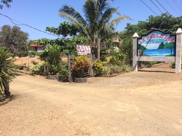 La Perla Inn Entrance