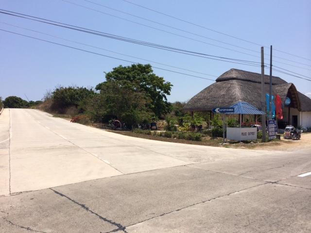 Kapurpurawan Rock Junction Before Poblacion of Burgos