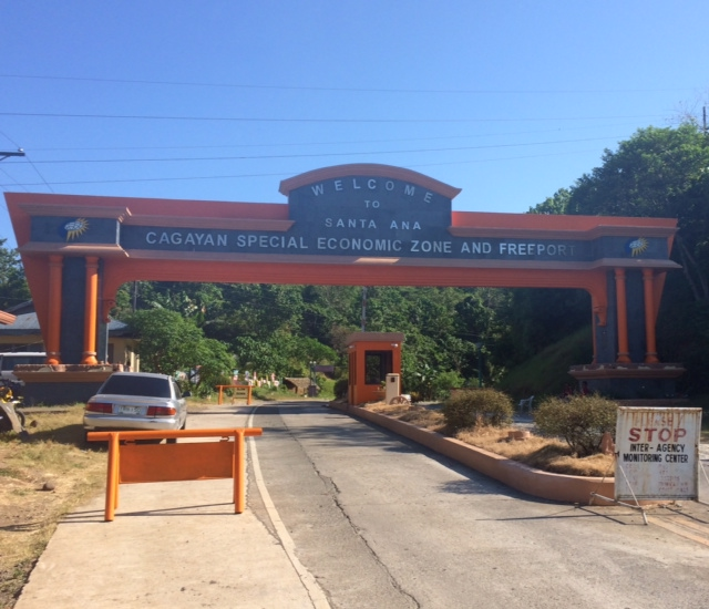 Santa Ana, Cagayan Welcome Arc (Last 10 Kilometers To The Finish Line)
