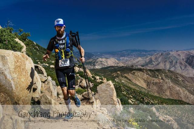 Michael Wardian Trekking Poles
