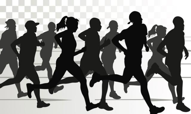 running-silhouettes