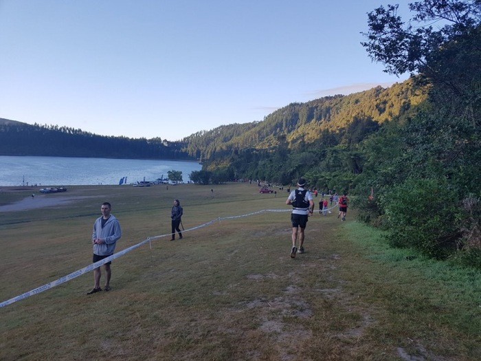 Tarawera Blue Lake Aid Station