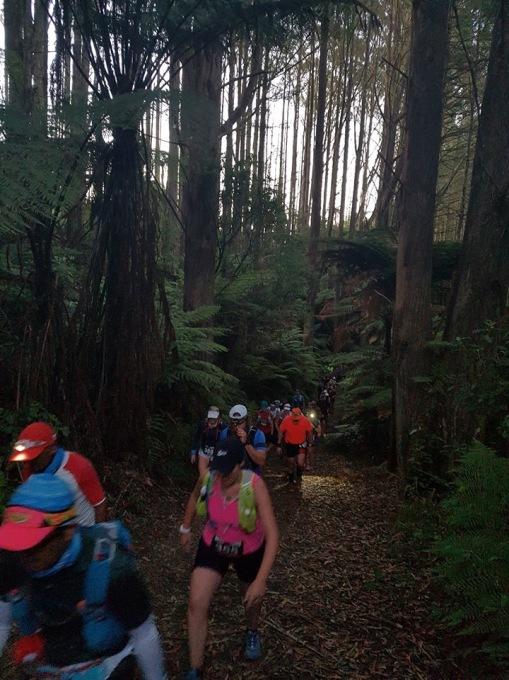 Tarawera Kilometer 2