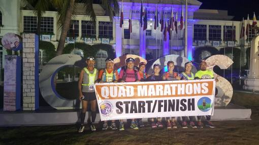 Day 2 Quad Marathons START