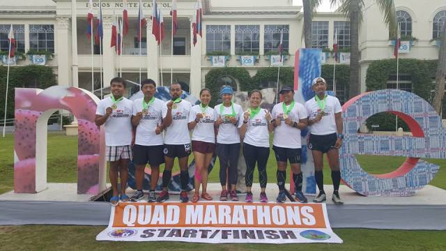 Day 2 Quad Marathons