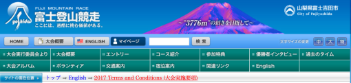 Mt Fuji Website