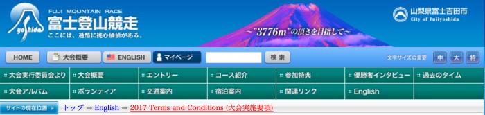 Mt Fuji Website