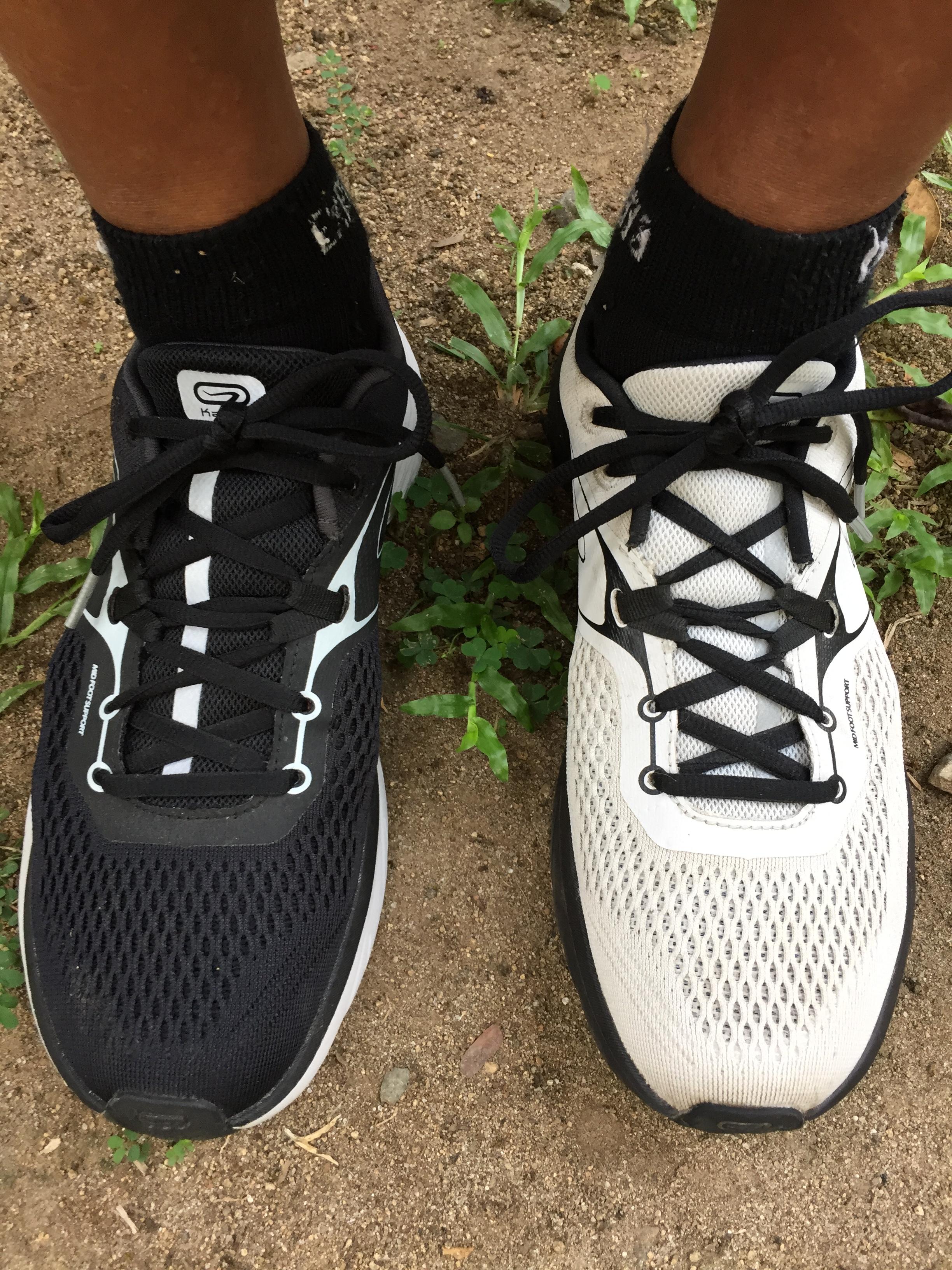 """Shoe Review: Kalenji """"Run Support"""" Running Shoes, White"""